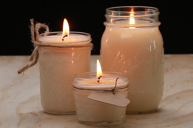 These Soy Candles Are The Perfect Chilly Weather DIY