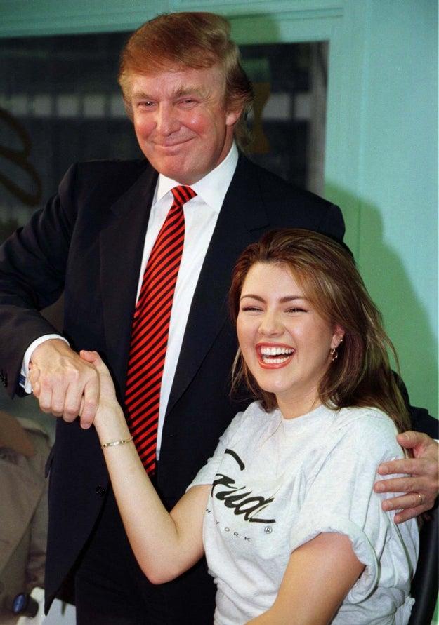 """Machado afirma que sufrió de bulimia y anorexia al ser llamada regularmente """"Miss Piggy"""" por Donald Trump."""