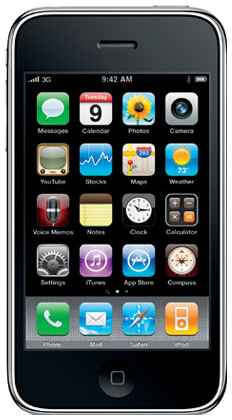 Here is the iPhone 3GS, which added more speed to the iPhone 3G.