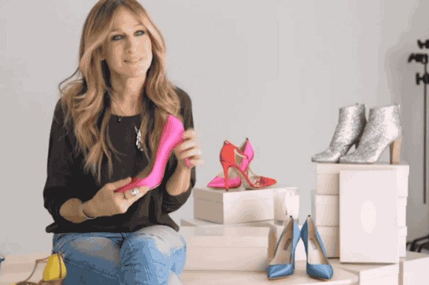 Sarah Jessica Parker's Shoe Collection Is On Amazon And We ...