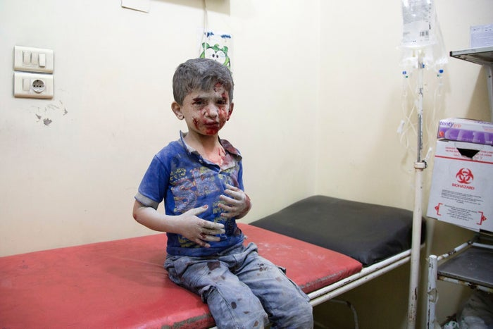 The eastern half of the city, which is held by rebels, has been mercilessly attacked even as aid workers attempted to provide support to the 275,000 remaining civilians in the city. And according to UNICEF, at least 96 children have been killed and 223 have been injured in the bombing campaign since Friday.
