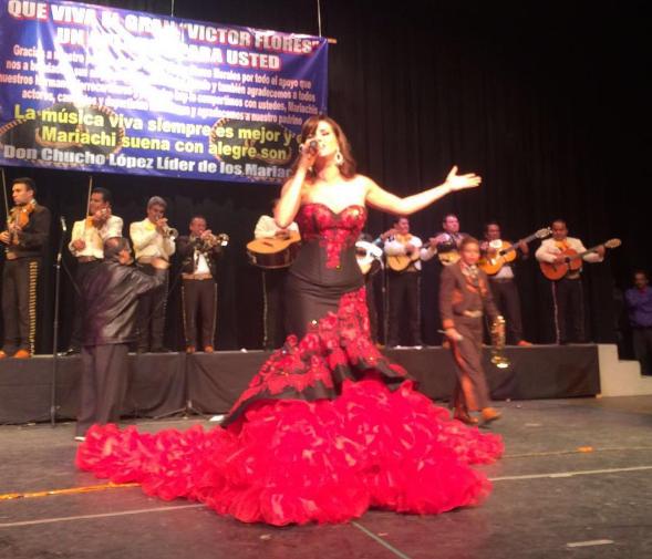 """Este año, México la nombró """"La Reina del Mariachi""""."""
