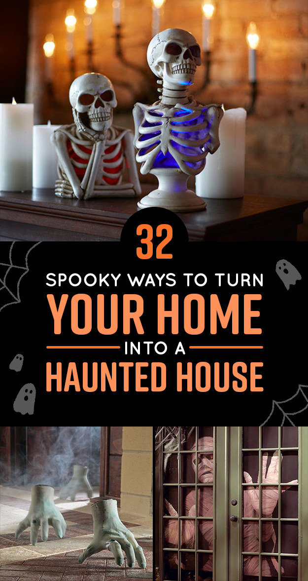 32 Spooky Ways To Turn Your Home Into A Haunted House