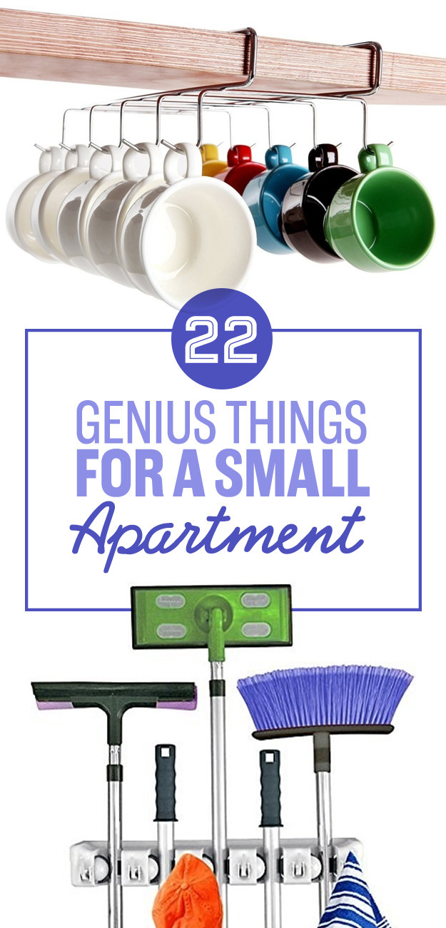 22 Genius Things Everyone With A Small Apartment Needs To Own