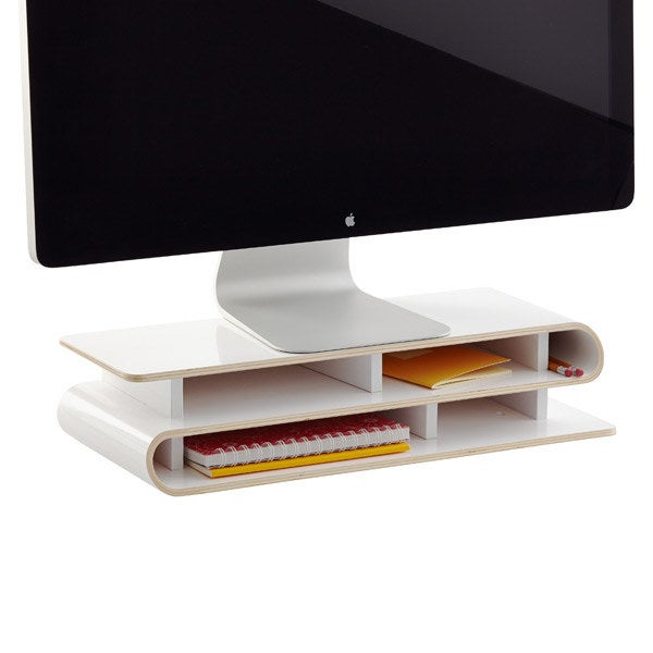This one is especially nice because it doubles as an organizer.Get it from The Container Store for $74.25.