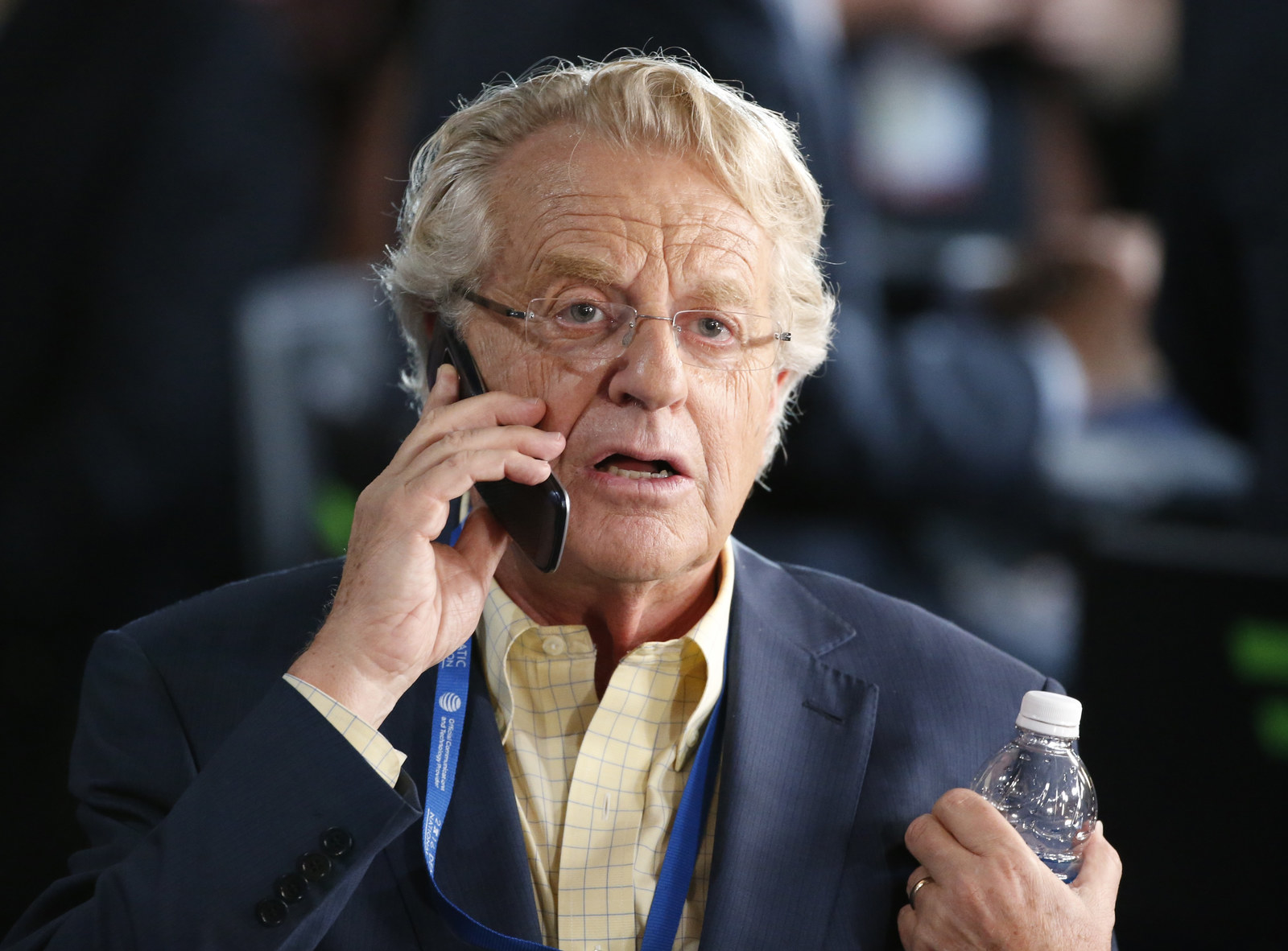 Jerry Springer: My Guests Are Authentic, Not Liars Like Trump