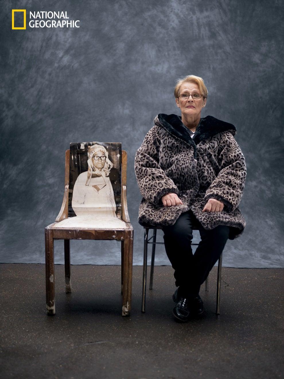 12. Patricia Fatima Houiche, age 66, France.