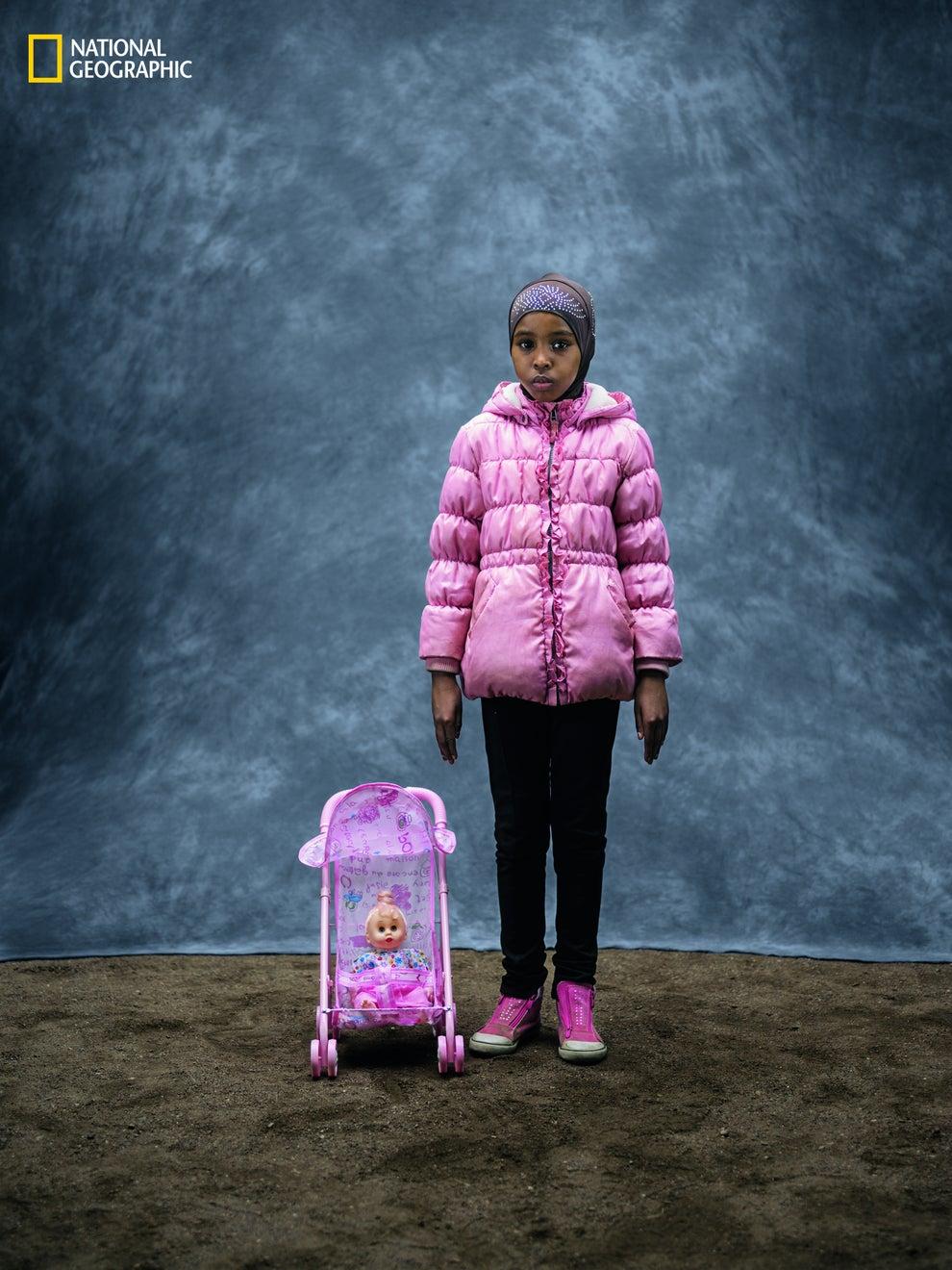 5. Isra Ali Saalad, age 10, Sweden.