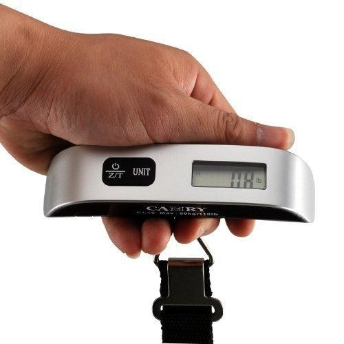 There'll be no more struggling with overweight bags with a compact luggage scale.
