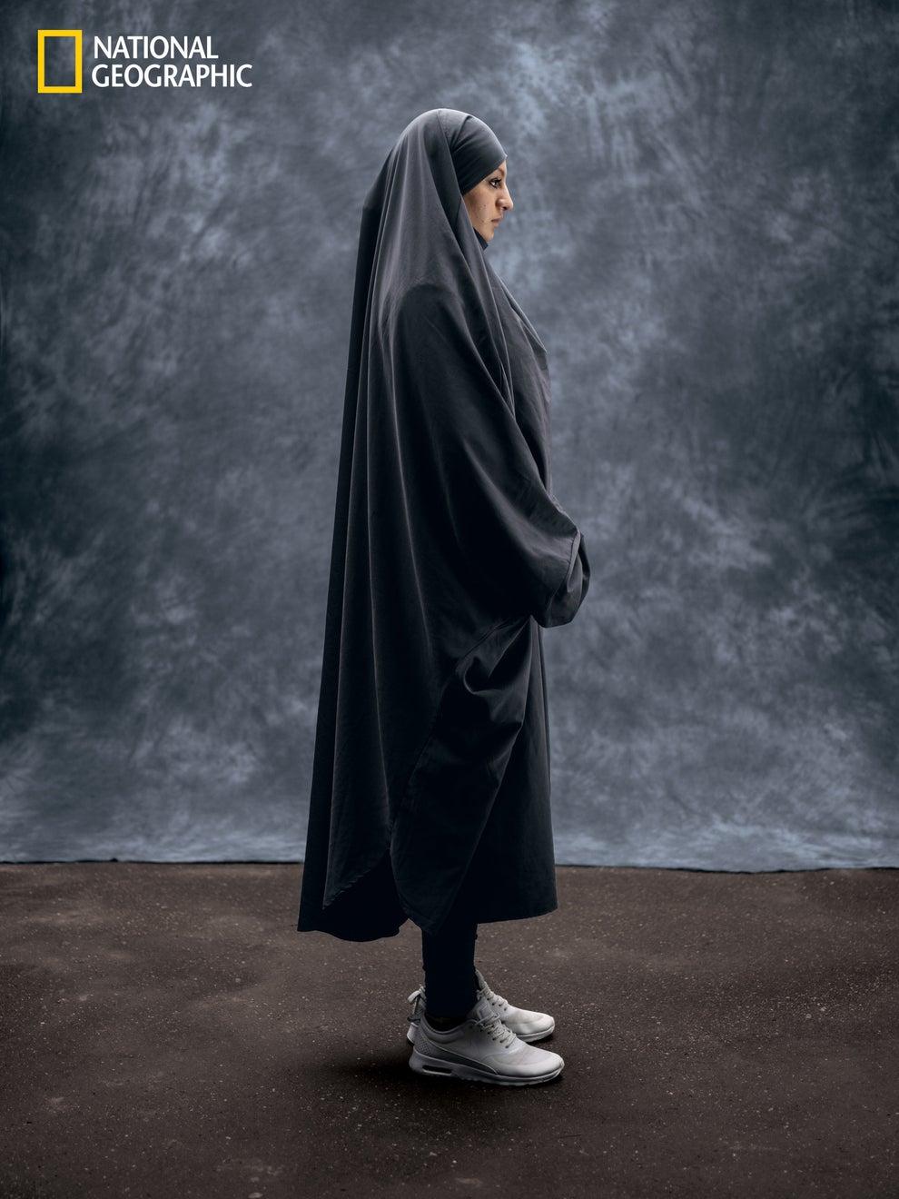 7. Ikram Chahmi Gheidene, age 23, Paris.