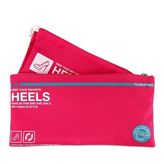 Protect your most delicate clothes from your heels with a set of heels bags.