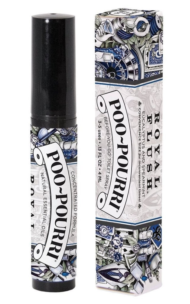 Make smelly poo a thing of the past with Poo-Pourri's Before-You-Go toilet spray.