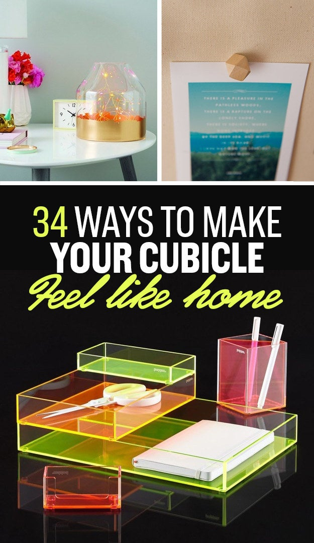 How To Decorate Your Cubicle 34 ways to make your cubicle so much better