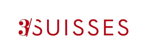 3 Suisses est le nom du carrefour sur lequel donnaient les fenêtres de l'une des premières usines de l'entreprise, non loin de Mouvaux dans le Nord.