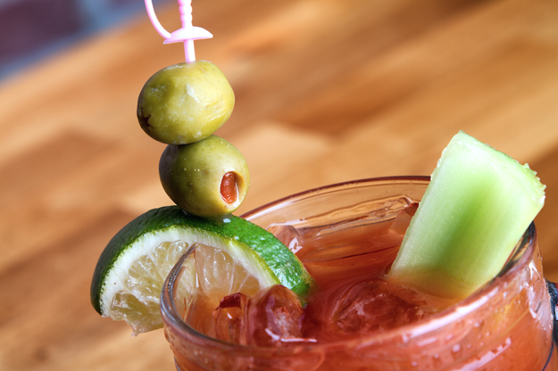 The fact that your favorite snack comes in even the most basic of Bloody Marys.