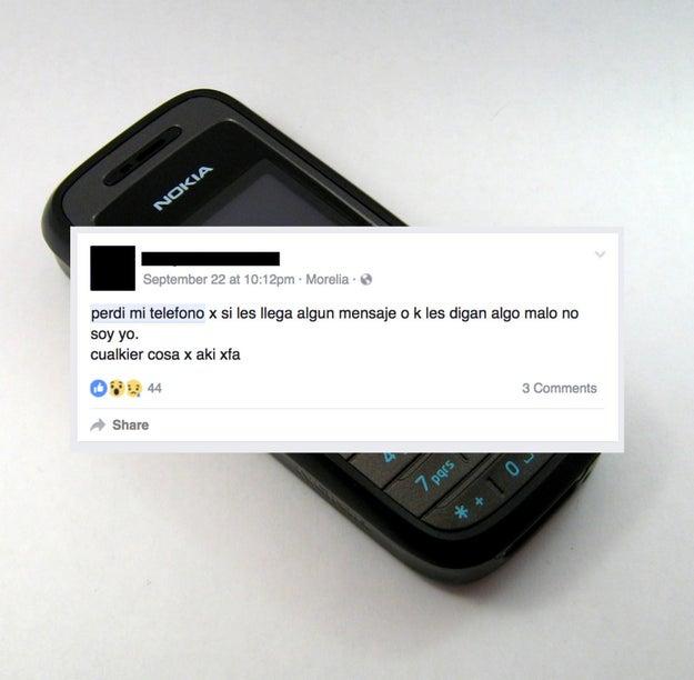 Tú cuando pierdes tu teléfono.