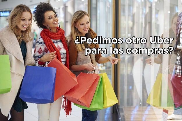 Los ricos de compras.