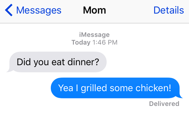 If We Were Honest When Texting Our Moms