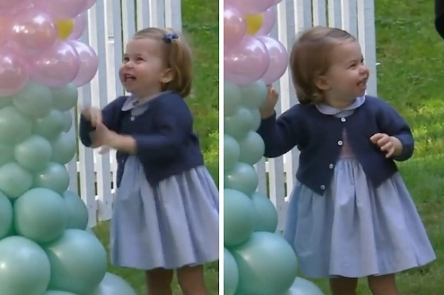 Prince George Canada >> Princess Charlotte Is Happier About Balloons Than You Will Ever Be About Anything