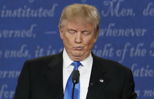 Here Are 5 Things Trump Has Said About His First Debate With Clinton