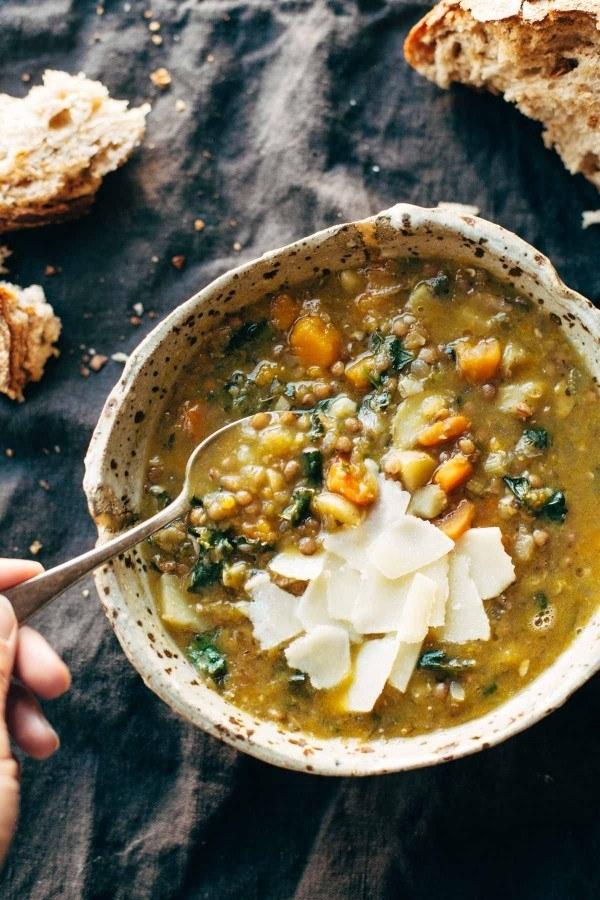 Detox Crockpot Lentil Soup
