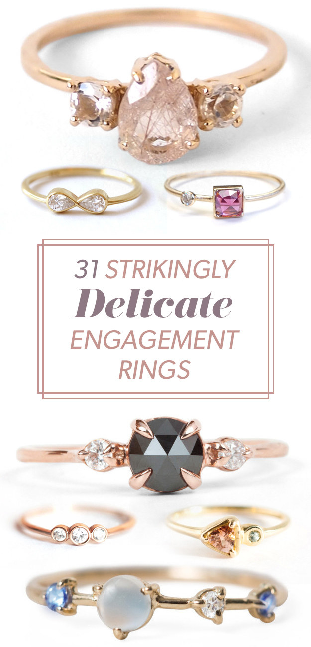 31 Strikingly Delicate Engagement Rings That Everyone Will Fall In Love With