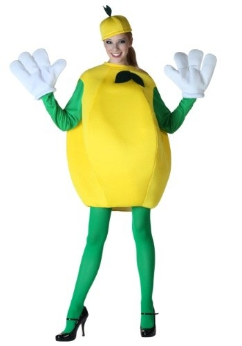 This sexy....mustached??...lemon costume.  sc 1 st  BuzzFeed & 13 Super Sexy Food Costumes For This Halloween