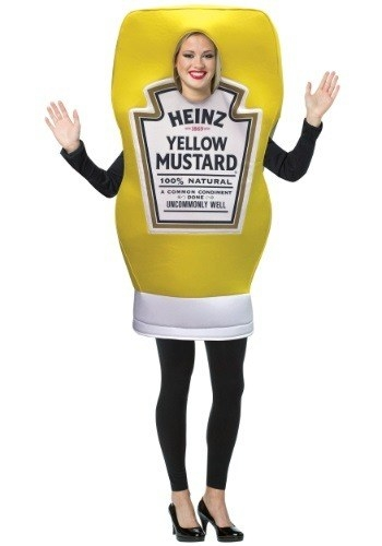 This saucy mustard costume.  sc 1 st  BuzzFeed & 13 Super Sexy Food Costumes For This Halloween