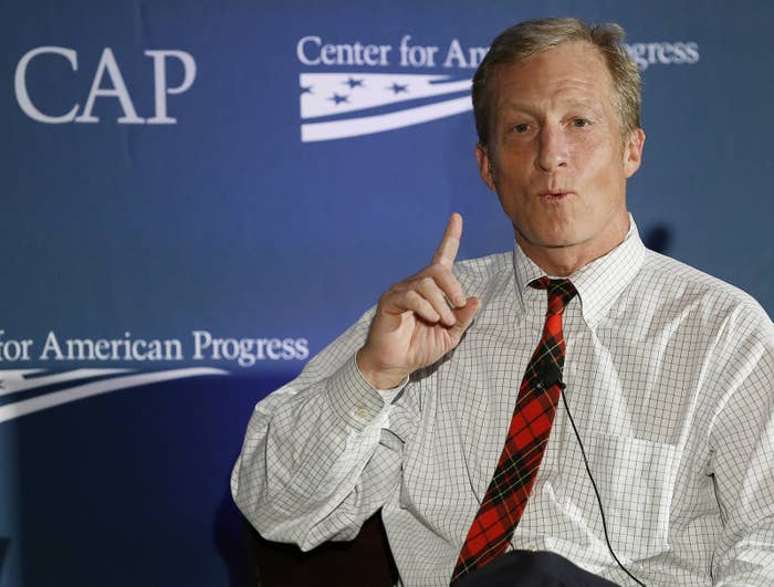Tom Steyer speaks at the Center for American Progress' 2014 Making Progress Policy Conference.