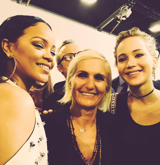 Try To Keep Your Chill But RiRi And JLaw Took A Photo Together