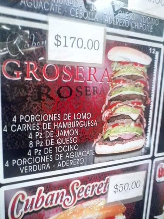 La Torta Grosera, en Chihuahua, Chihuahua.