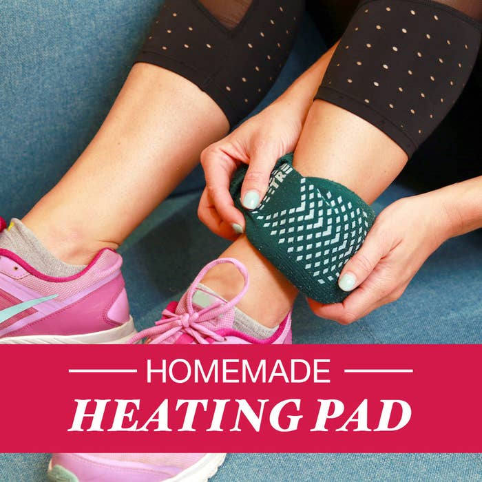 Soothe Aches And Pains With This Homemade Heating Pad