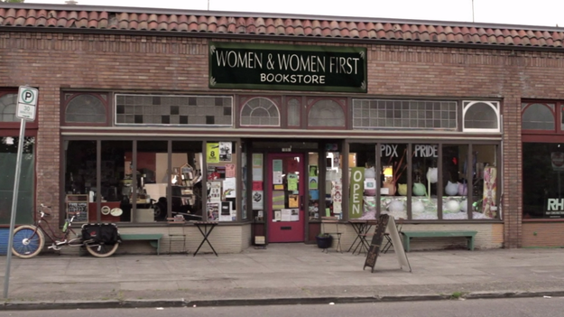 In Other Words is the real feminist bookstore that Women & Women First from Portlandia is based on. It's also used in the filming of the show.
