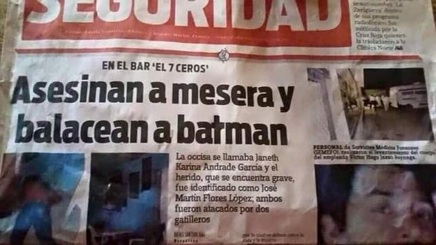 Ni Batman se salva.