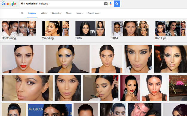 Despite this, you still love looking on the internet for makeup inspiration.