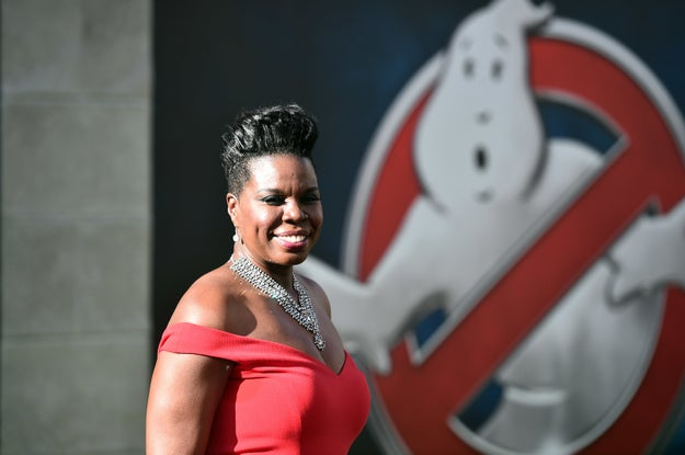 Leslie Jones has a made a return to Twitter after being the victim of a cyber attack on her website last month.