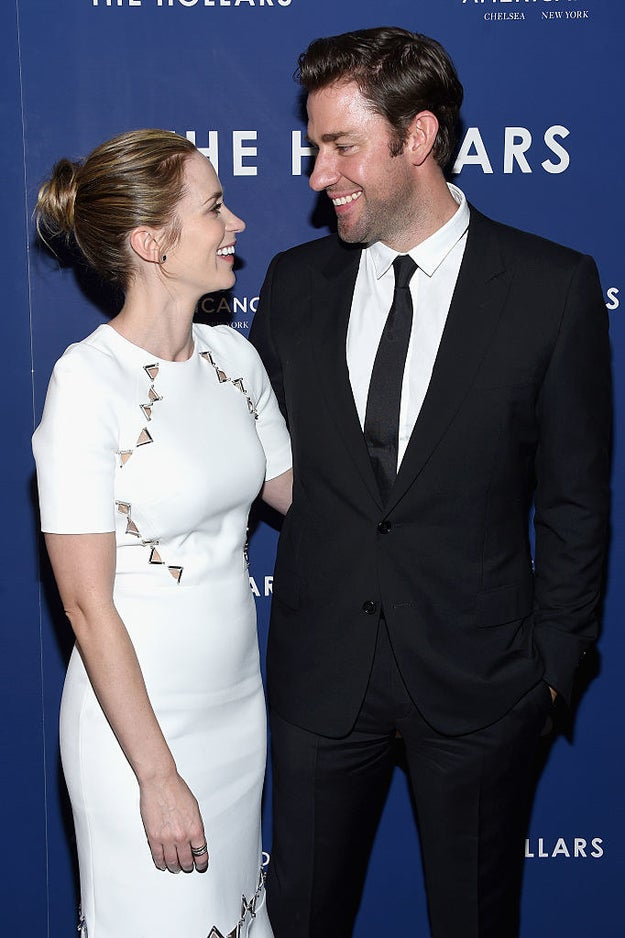 John Krasinski and Emily Blunt have one of the most perfect marriages in showbiz.