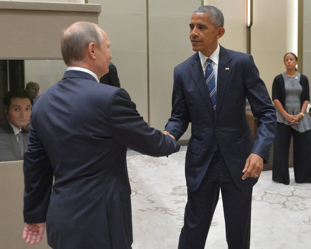 Among them were US President Barack Obama and Russian President Vladimir Putin, who met for 90 minutes on the sidelines of the summit on Monday to see what they could do about ending the Syrian civil war.