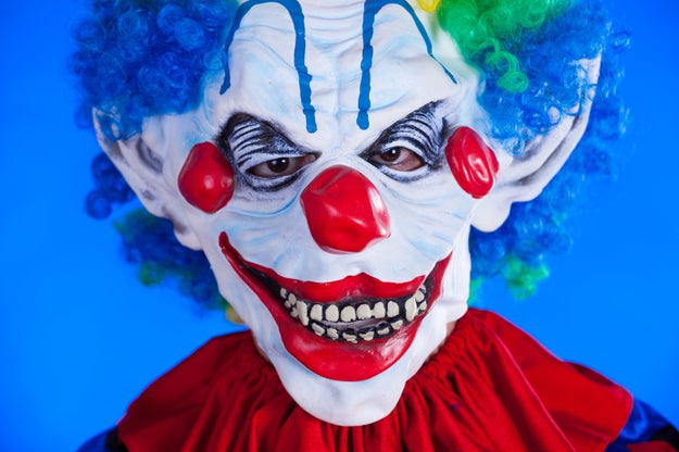 After residents in South Carolina reported a creepy clown trying to lure kids into the woods last month, police in North Carolina received a similar report on Sunday.