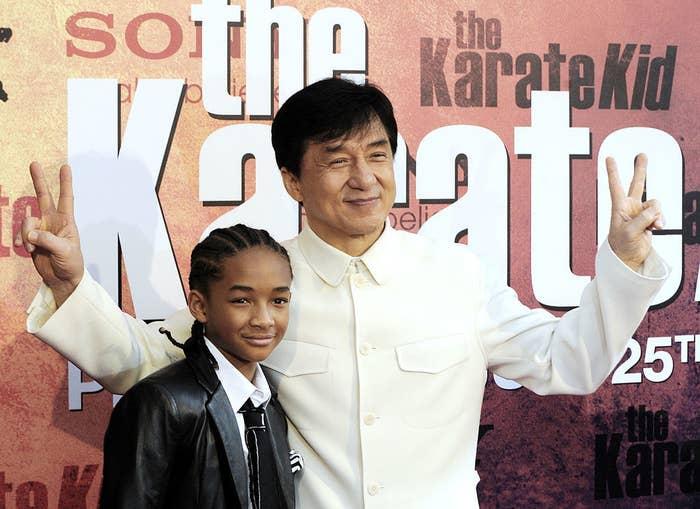 ジャッキー・チェンと共演した2011年の映画『ベスト・キッド』を覚えている?
