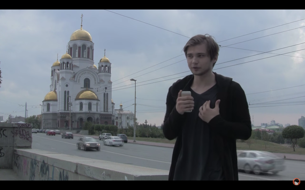 In the video, Sokolovsky talks about a news report from July about Pokémon Go players facing criminal charges for using their phone in Russian churches. He says that he finds it strange to ban phones and Pokémon Go in churches. So he decided to test the ban and filmed himself playing the game in the Church of All Saints, Yekaterinburg.