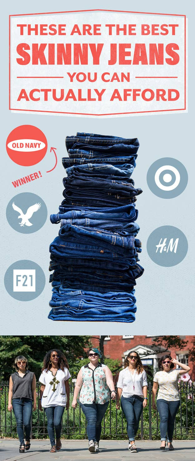 We Tested 24 Pairs Of Affordable Skinny Jeans And These Are The Best