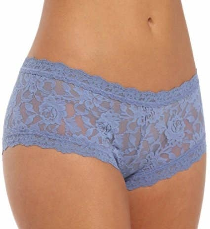 "Rating: 4.5/5 / Price: $19.90 / Sizes: XS-XL / Available in 58 colors.Promising review: ""Flattering and you-just-might-forget-they-'re-there comfy. How comfy? I will tell you a totally true story about these wonderful knickers. My roommate in college bought a pair, and kept going on about how comfy they were. One morning I hear her yell ""Aw, crap!"" from the bathroom.She yelled sheepishly out to me, ""Remember how I said those Hanky Panky undies were really, really comfy, and how I couldn't even tell I had undies on?""""Yeah..."" I suspiciously assured her.""Well, I just peed in my Hanky Pankies because I forgot I was wearing underwear."" THAT is how comfy they are."" —Emma Jane Davis"