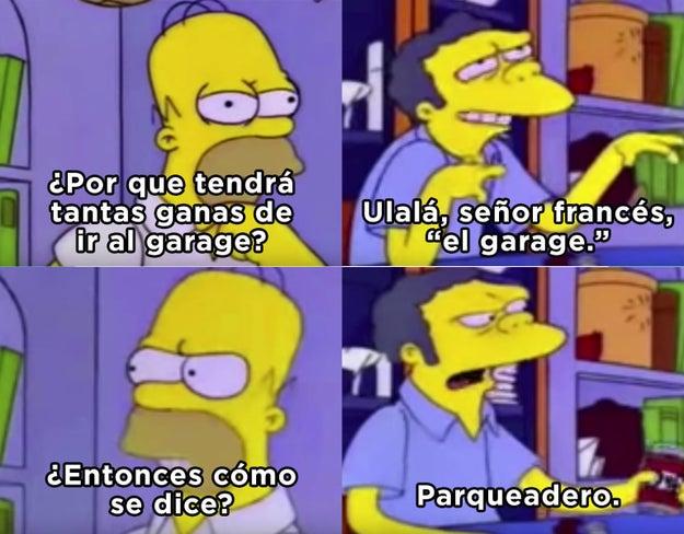 ¿Recuerdas esta escena de Los Simpson?