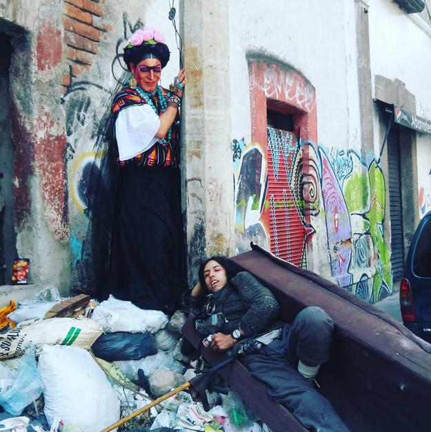 La Frida del basurero.