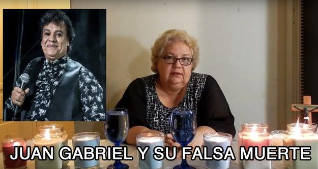 La teoría de que Juan Gabriel sigue vivo.