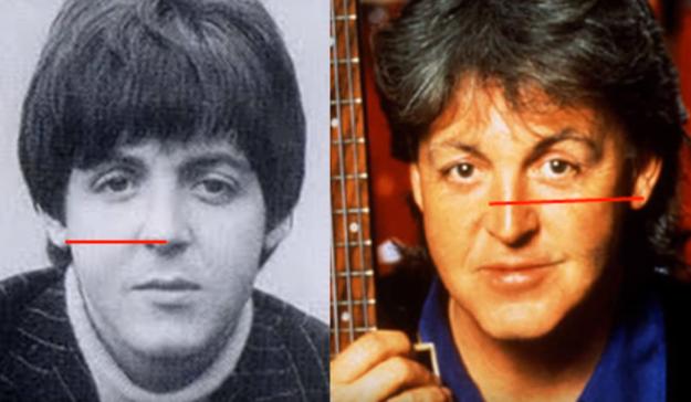 Paul McCartney murió en un accidente de tránsito, y fue reemplazado por un doble.