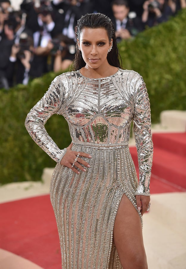 As it happens, even someone as fashion forward as Kim K can fall victim to interesting and weird looks.
