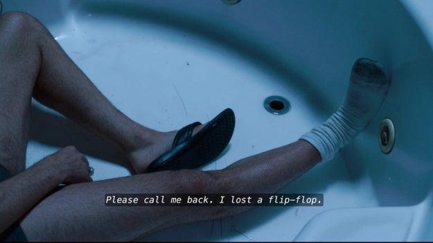 No hay forma humana en la que puedas usar flip flops.