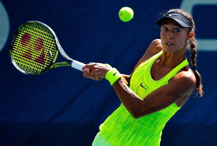 Vitalia Diatchenko, whose US Open match against Timea Bacsinszky attracted the attention of tennis authorities.